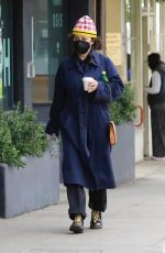 ALIA SHAWKAT Out for Coffee in Los Feliz 01/27/2021