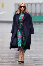 AMANDA HOLDEN Arrives at Heart Radio in London 01/13/2021