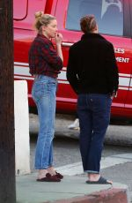 AMBER HEARD and BIANCA BUTTI Out in Los Angeles 01/11/2021