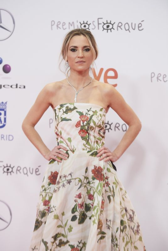 ANA FERNANDEZ at Jose Maria Forque Awards in Madrid 01/16/2021