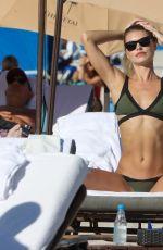 ANASTASIA GRIK in Bikini at a Beach in Miami 01/26/2021