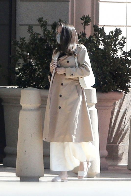 ANGELINA JLIE Out Shopping in Los Angeles 01/30/2021