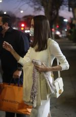 ANGELINA JOLIE Out Shopping in Los Angeles 01/08/2021