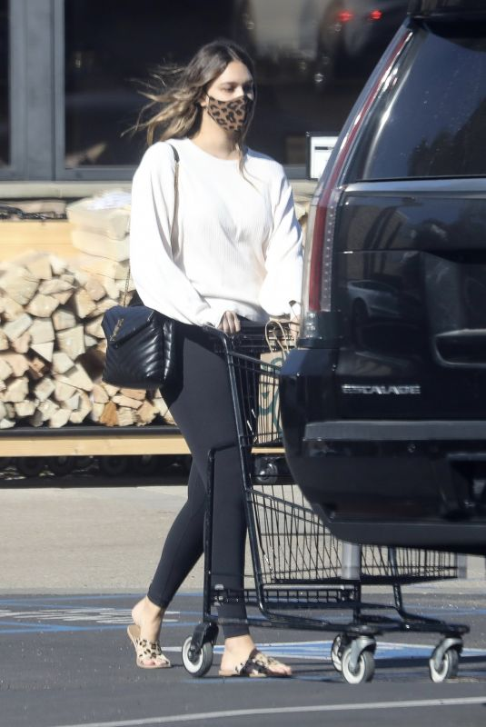 APRIL LOVE GEARY Out Shopping in Malibu 01/09/2021