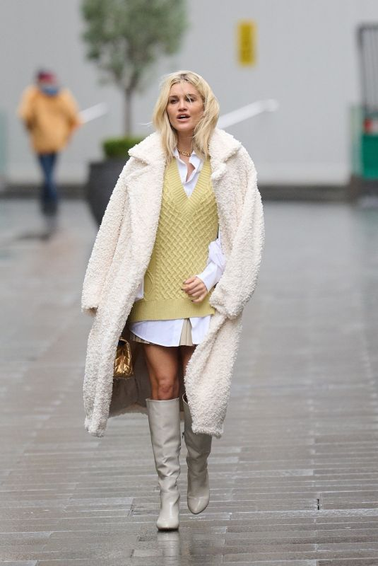 ASHLEY ROBERTS Arrives at Global Radio in London 01/20/2021