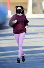 AUBREY PLAZA Out and About in Los Angeles 01/04/2021