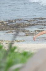 BELLA THORNE and Benjamin Mascolo on the Beach in Tulum 01/04/2021