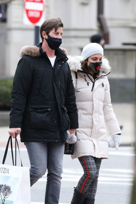 BETHENNY FRANKEL and Paul Bernon Out in Boston 01/26/2021