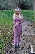 BIANCA GASCOIGNE Out and About in Kent 01/18/2021