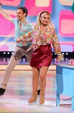 BILLIA FAIERS at Dancing On Ice TV Show 01/17/2021