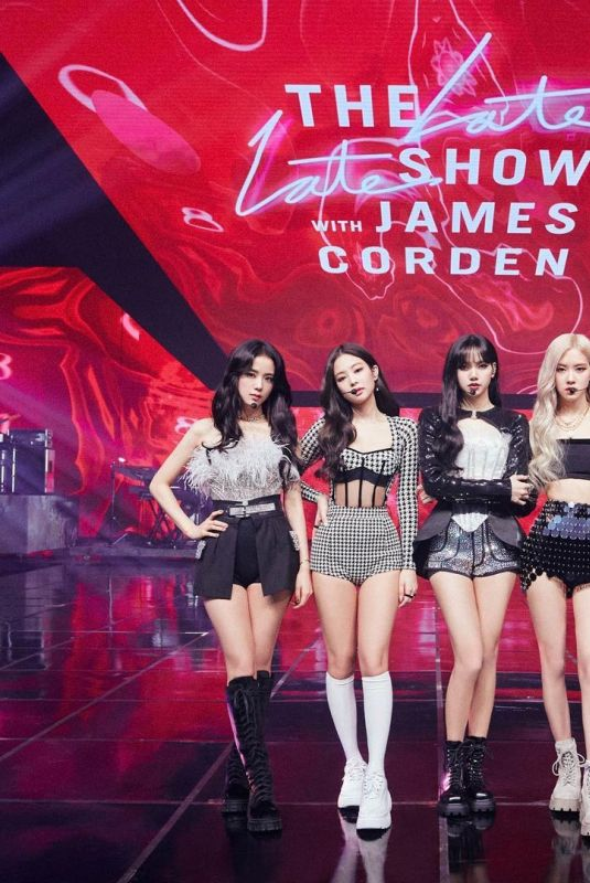 BLACKPINK at Late Late Show with James Corden 01/29/2021
