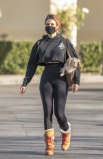 BRITTANY FURLAN Out Shopping in Calabasas 01/24/2021