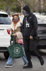 BRITTANY FURLAN Out Shopping in Los Angeles 01/03/2021