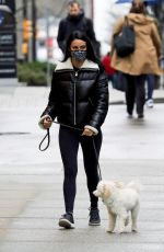 CAMILA MENDES Out with Her Dog in Vancouver 01/30/2021