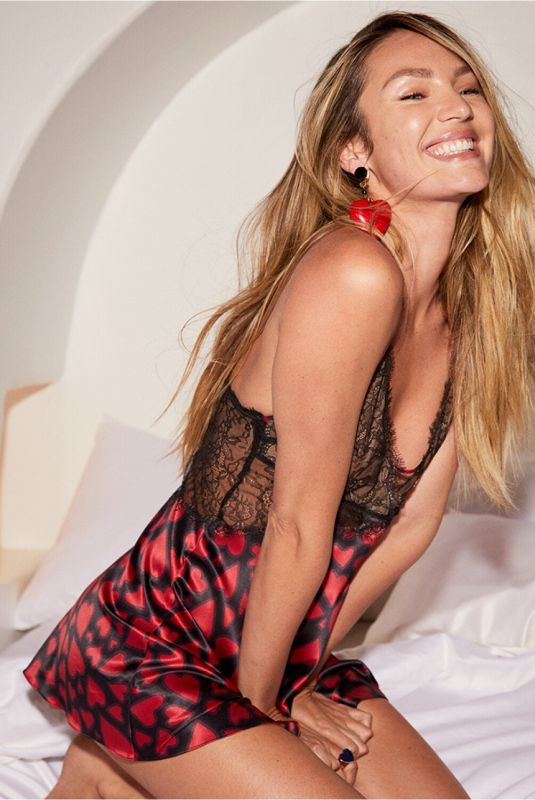 CANDICE SWANEPOEL for Victoria's Secret 2021 Valentines Day Collection