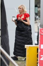 CATE BLANCHET on the Set of Don