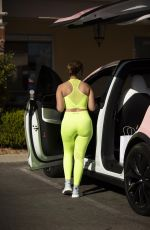 CATHERINE PAIZ in Tights Out in Calabasas 01/21/2021