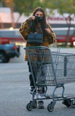 CHANTEL JEFFRIES Shopping at Whole Foods in West Hollywood 01/19/2021