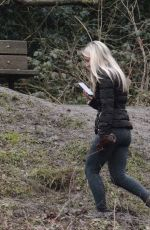 CHLOE MADELEY Out at a Park in London 01/28/2021