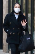 CHLOE SEVIGNY Out and About in New Nork 01/22/2021