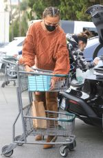 CHRISSY TEIGEN Shopping at Bristol Farms in Beverly Hills 01/12/2021