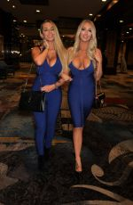 CLAUDIA FIJAL and COLLEEN MCGINNIS Night Out in Las Vegas 01/13/2021