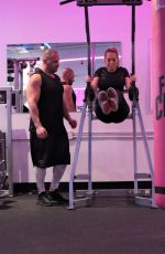 CLAUDIA FIJAL at Fit Club in Las Vegas 01/21/2021