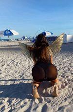 CLAUDIA ROMANI at Ritz Carlton in South Beach for Bihbi 01/24/2021
