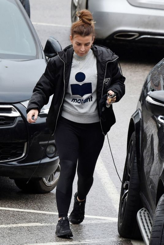 COLEEN ROONEY Shopping at Waitrose in Cheshire 01/29/2021