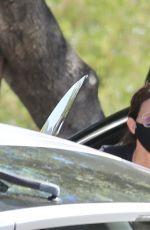 COURTENEY COX at a Spa in Malibu 01/26/2021