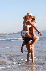 COURTNEY STODDEN in Bikini at a Beach in Malibu 01/20/2021