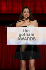 CRISTIN MILIOTI at 30th Annual IFP Gotham Awards in New York 01/11/2021