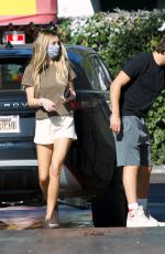 DELILAH HAMLIN and Scott Disick Wash Their Car in Santa Monica 01/11/2021