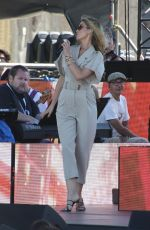DELTA GOODREM at Australia Day Concert in Sydney 01/25/2021