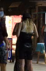 DEMI SIMS and FRANCESCA FARAGO Night On in Tulum 01/22/2021