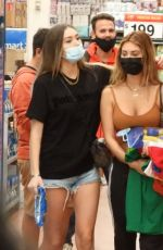 DEMI SIMS and FRANCESCA FARAGO Out Shopping in Tulum 01/17/2021