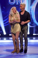 DENISE VAN OUTEN at Dancing On Ice TV Show 01/17/2021