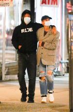 DIANE KRUGER and Norman Reedus Out in New York 01/23/2021