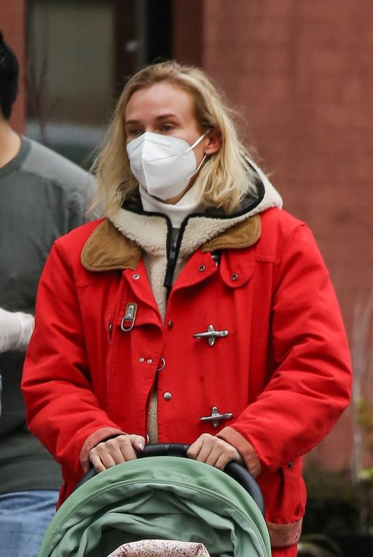 DIANE KRUGER Out and About in New York 01/27/2021