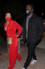 DRAYA MICHELE and Tyrod Taylor Out in Santa Barbara 01/07 ...