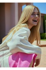ELLE FANNING in Natural Style Magazine, January 2021