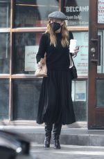 ELLEN POMPEO Out Picking up Lunch in Los Angeles 01/22/2021