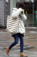 EMILIA CLARKE Out Shopping in London 01/12/2021