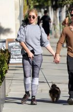 EMMA SLATER and Sasha Farber Out with Their Dog in West Hollywood 01/17/2021