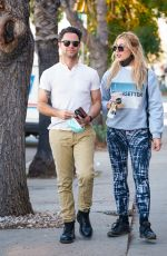 EMMA SLATER Out in Los Angeles 01/14/2021