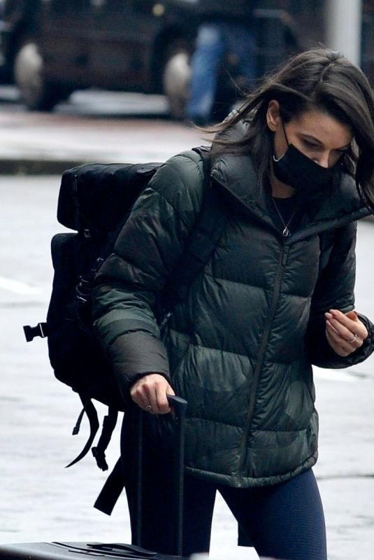 FAYE BROOKES Out in Manchester 01/28/2021