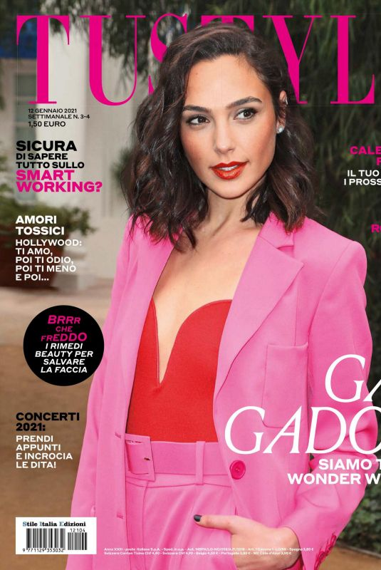 GAL GADOT in Tustyle Magazine, January 2021
