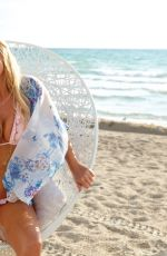 GERI HALLIWELL in Bikinis at a Photoshoot, 2010