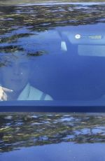 HAILEY BIEBER and KENDALL JENNER Out Driving in Los Angeles 01/21/2021