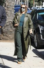 HAILEY BIEBER Heading to a Meeting in Los Angeles 01/26/2021
